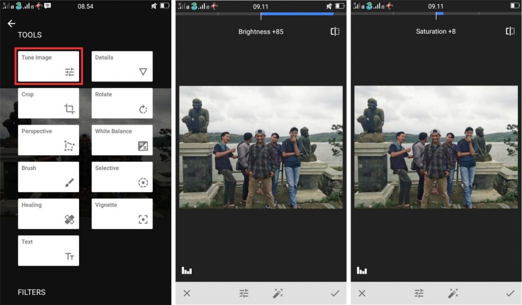 Cara Mengedit Foto Gelap Menjadi Lebih Terang Di Android