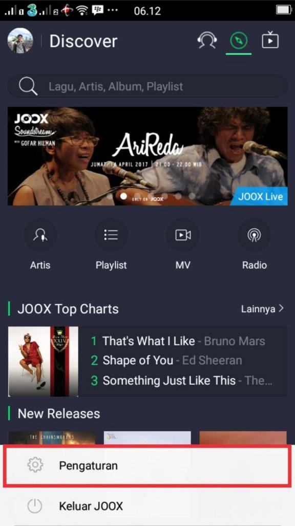 Cara Sederhana Menghemat Kuota Streaming Musik Di JOOX